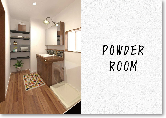 KONO HOUSE PowderRoom